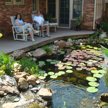 The Pond and Waterfall Lifestyle